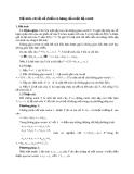 Hệ sinh, cơ sở, số chiều và hạng của một hệ vectơ