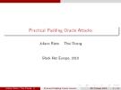 Practical Padding Oracle Attacks