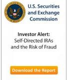 Investor Alert:  Self-Directed IRAs and the Risk of Fraud