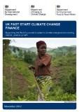UK FAST START CLIMATE CHANGE  FINANCE - 2012