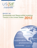 Sustainable and Responsible Investing Trends in the United States  2012