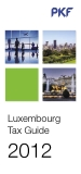 Luxembourg Tax Guide 2012