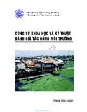 Công cụ khoa học và kỹ thuật đánh giá  tác động môi trường - Ban thư ký Ủy hội sông Mê Công