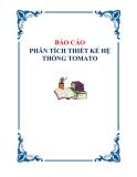Quản lý hoạt động bán hàng của công ty Tomato