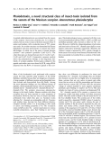 Báo cáo khoa học: Phaiodotoxin, a novel structural class of insect-toxin isolated from the venom of the Mexican scorpion Anuroctonus phaiodactylus