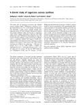Báo cáo khoa học: A kinetic study of sugarcane sucrose synthase