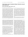 Báo cáo khoa học:  Thermodynamic analysis of porphyrin binding to Momordica charantia (bitter gourd) lectin