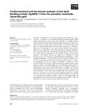 Báo cáo khoa học: Conformational and functional analysis of the lipid binding protein Ag-NPA-1 from the parasitic nematode Ascaridia galli