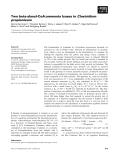 Báo cáo khoa học: Two beta-alanyl-CoA:ammonia lyases in Clostridium propionicum