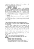 Bài tập về luật bảo hiểm