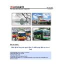 Báo cáo nhanh Mức độ hài lòng của người dân về chất lượng dịch vụ của xe buýt
