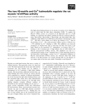 Báo cáo khoa học: The two IQ-motifs and Ca2+/calmodulin regulate the rat myosin 1d ATPase activity