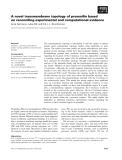 Báo cáo khoa học: A novel transmembrane topology of presenilin based on reconciling experimental and computational evidence