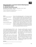 Báo cáo khoa học: Characterization of cinnamyl alcohol dehydrogenase of Helicobacter pylori An aldehyde dismutating enzyme