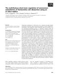 Báo cáo khoa học: The multifarious short-term regulation of ammonium assimilation of Escherichia coli: dissection using an in silico replica