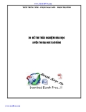 30 Đề thi trắc nghiệm Hóa học luyện thi ĐHCĐ