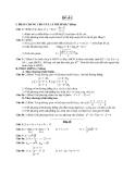 Đề ôn thi tốt nghiệp trung học phổ thông môn toán - Đề 1