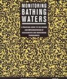 Monitoring Bathing Waters - A Practical Guide to the Design and Implementation of  Assessments and Monitoring Programmes