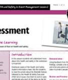 EVENT SAFETY RISK ASSESSMENT   AND   EVENT MANAGEMENT PLAN