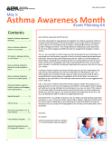 May is Asthma Awareness Month Event Planning Kit