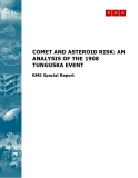 COMET AND ASTEROID RISK: AN ANALYSIS OF THE 1908 TUNGUSKA EVENT