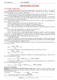 Phương pháp quy đổi hoá học