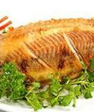 Mẹo hay vào bếp: Chiên cá không bị dính…