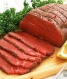 Mẹo khử mùi hôi của gà, bò, cá