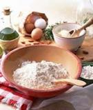 Phân biệt các loại bột làm bánh