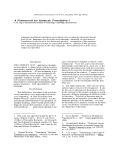 "Báo cáo khoa học: ""A Framework for Syntactic Translation"""