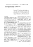 "Báo cáo khoa học: ""On-Line Semantic Analysis of English Texts"""