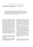 "Báo cáo khoa học: "" A Refinement in Coding the Russian Cyrillic Alphabet"""