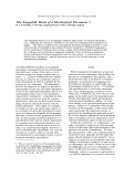 "Báo cáo khoa học: ""The Linguistic Basis of a Mechanical Thesaurus """