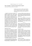"Báo cáo khoa học: ""Slavic Languages: Comparative Morphosyntactic Analysis"""