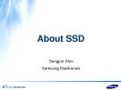 AboutSSD - DongjunShin SamsungElectronics