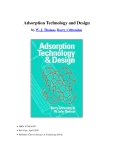 Adsorption Technology and Designby