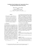 """Báo cáo khoa học: """"Combining Textual Entailment and Argumentation Theory for Supporting Online Debates Interactions"""""""