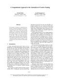 "Báo cáo khoa học: ""A Computational Approach to the Automation of Creative Naming"""
