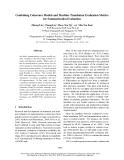 "Báo cáo khoa học: ""Combining Coherence Models and Machine Translation Evaluation Metrics for Summarization Evaluation"""