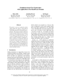 """Báo cáo khoa học: """"Entailment-based Text Exploration with Application to the Health-care Domain"""""""