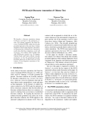 """Báo cáo khoa học: """"PDTB-style Discourse Annotation of Chinese Text"""""""