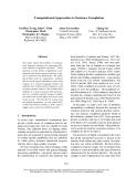 "Báo cáo khoa học: ""Computational Approaches to Sentence Completion"""