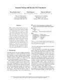 "Báo cáo khoa học: ""Semantic Parsing with Bayesian Tree Transducers"""