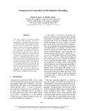 "Báo cáo khoa học: ""Concept-to-text Generation via Discriminative Reranking"""