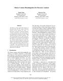 "Báo cáo khoa học: ""Chinese Comma Disambiguation for Discourse Analysis"""