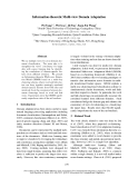 "Báo cáo khoa học: ""Information-theoretic Multi-view Domain Adaptation"""