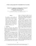 "Báo cáo khoa học: ""A Meta Learning Approach to Grammatical Error Correction"""