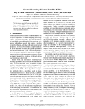 """Báo cáo khoa học: """"Spectral Learning of Latent-Variable PCFGs"""""""