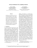 "Báo cáo khoa học: ""Strong Lexicalization of Tree Adjoining Grammars"""