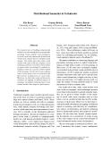 "Báo cáo khoa học: ""Distributional Semantics in Technicolor"""